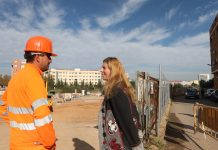 Nou pont del riu sec Castelló