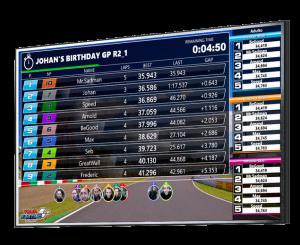 Pixeltiming equipamiento para karting
