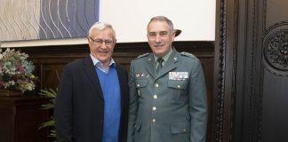 Ribó es reuneix en cap de Guardia Civil