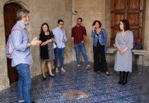 Restauració paviment de la Llotja de la Seda
