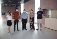 Ruiz obre l'exposició divulgativa del Planetari